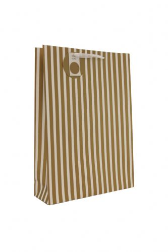Gold Stripe Bag L